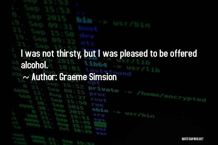 Graeme Simsion Quotes 1315747