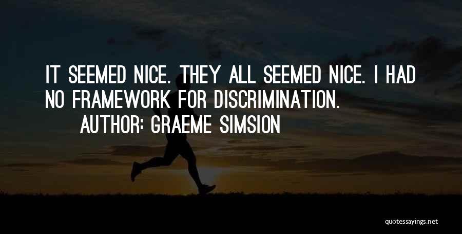 Graeme Simsion Quotes 1369831