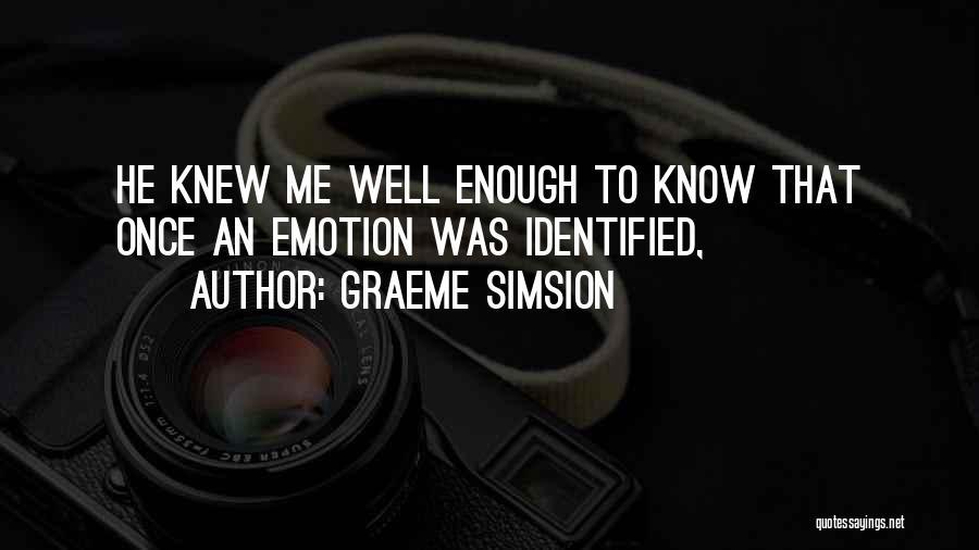 Graeme Simsion Quotes 481631