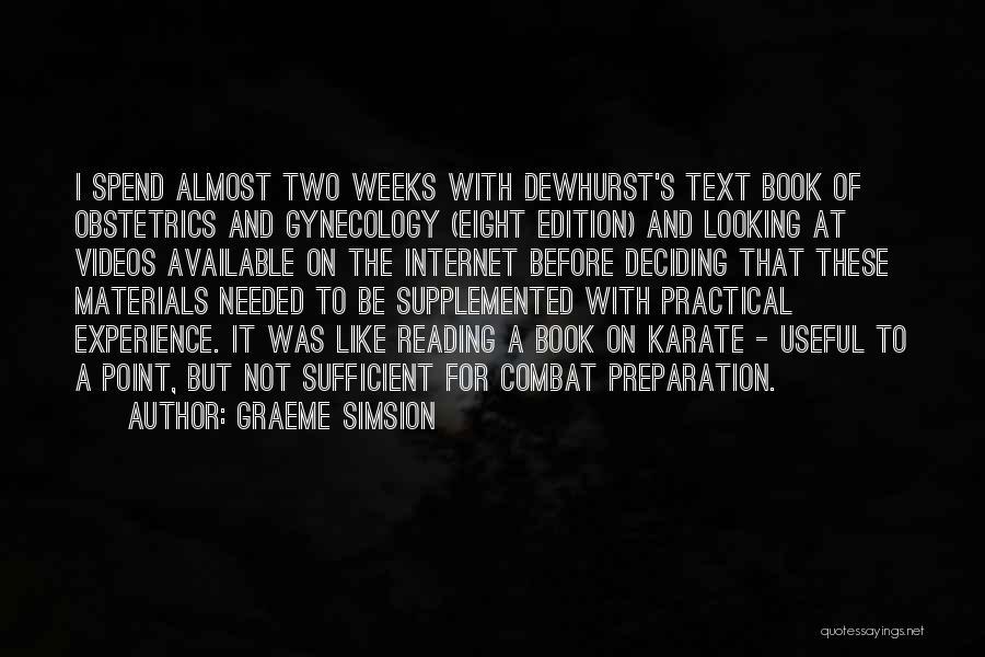 Graeme Simsion Quotes 703801
