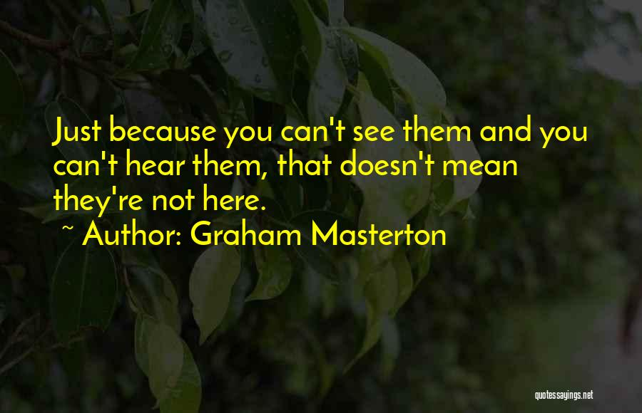 Graham Masterton Quotes 1367749