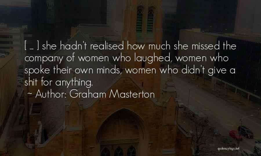 Graham Masterton Quotes 458412