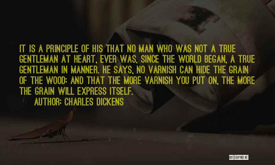 Grain Quotes By Charles Dickens