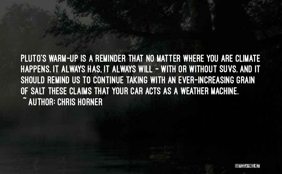 Grain Quotes By Chris Horner
