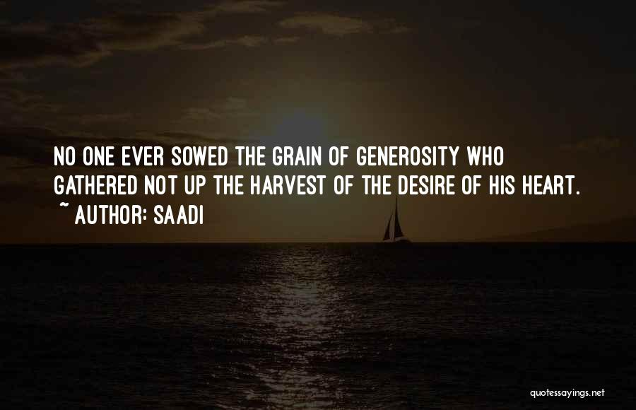Grain Quotes By Saadi