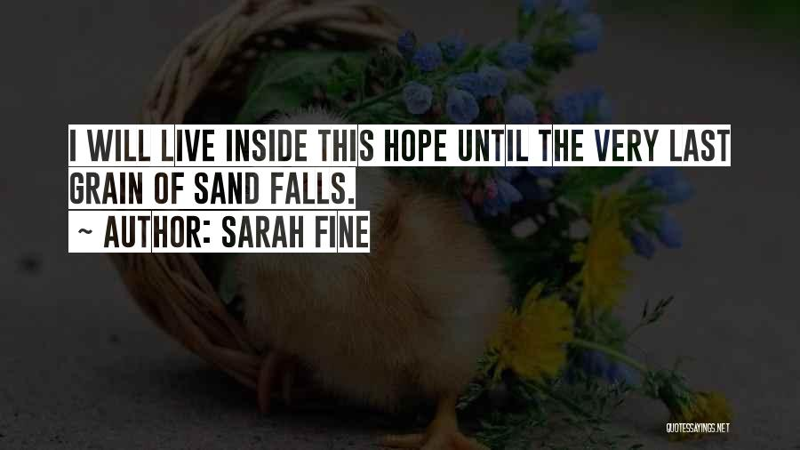 Grain Quotes By Sarah Fine