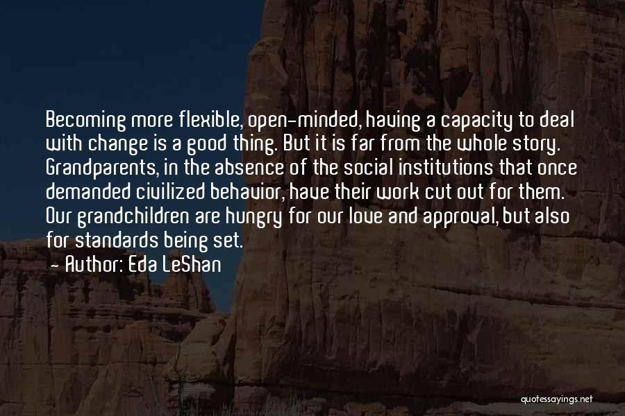 Grandchildren Quotes By Eda LeShan