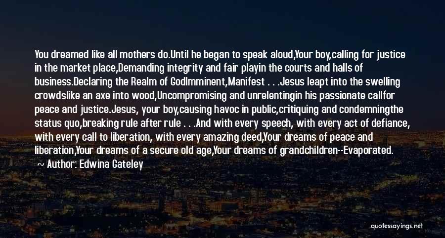 Grandchildren Quotes By Edwina Gateley