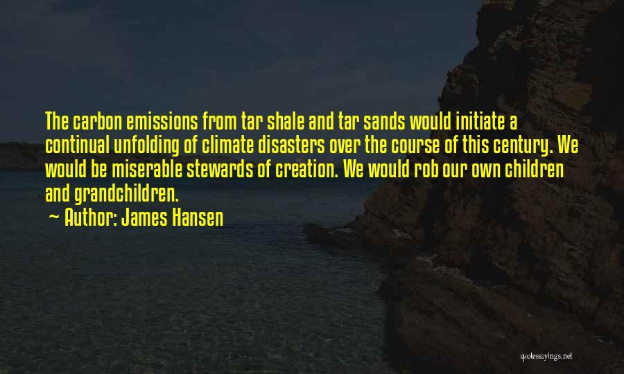 Grandchildren Quotes By James Hansen