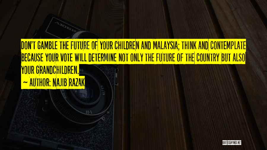 Grandchildren Quotes By Najib Razak
