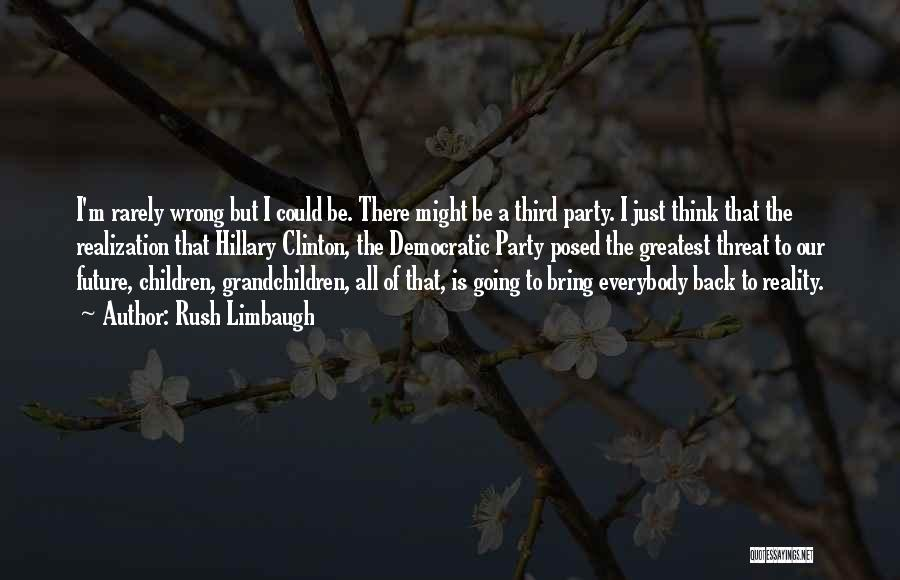 Grandchildren Quotes By Rush Limbaugh