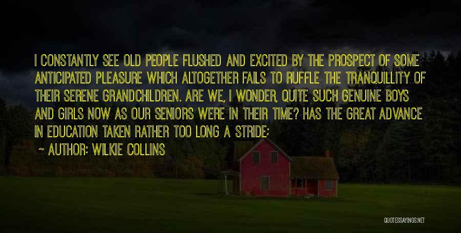 Grandchildren Quotes By Wilkie Collins