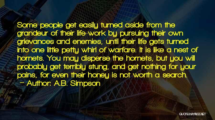 Grandeur Quotes By A.B. Simpson