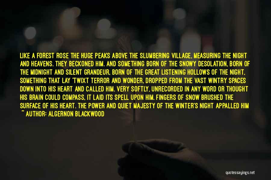 Grandeur Quotes By Algernon Blackwood