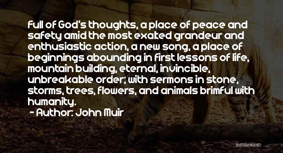 Grandeur Quotes By John Muir