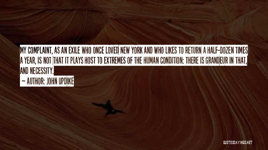 Grandeur Quotes By John Updike