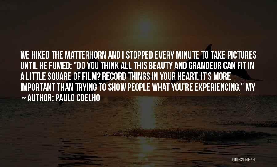 Grandeur Quotes By Paulo Coelho