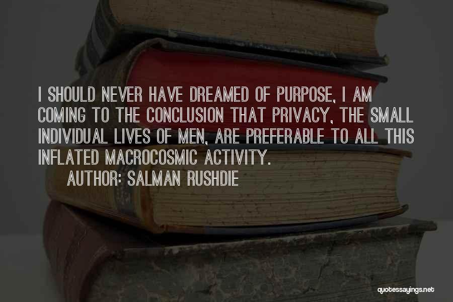 Grandeur Quotes By Salman Rushdie
