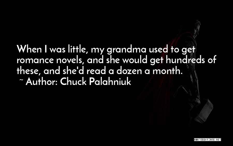 Grandma Quotes By Chuck Palahniuk