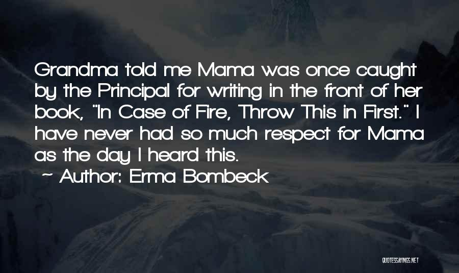 Grandma Quotes By Erma Bombeck