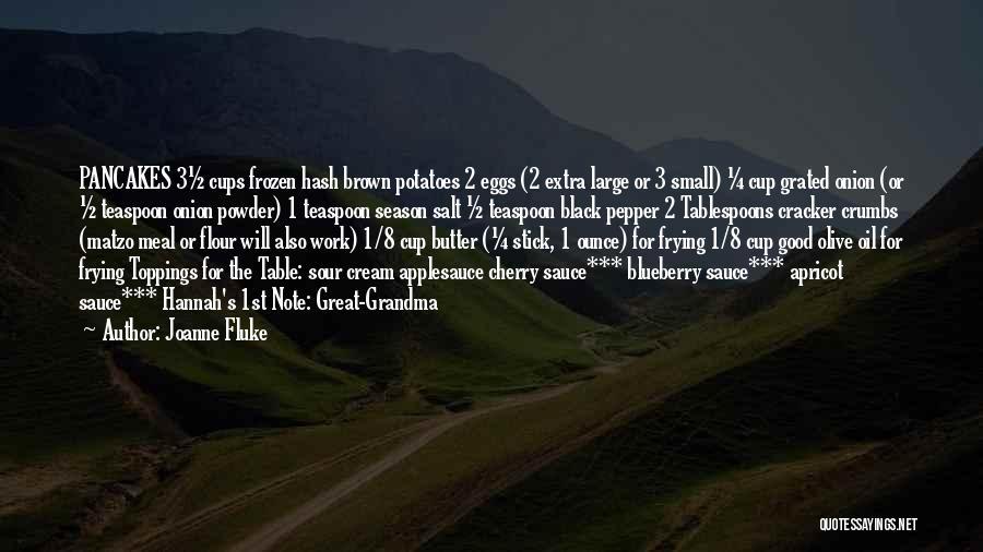 Grandma Quotes By Joanne Fluke