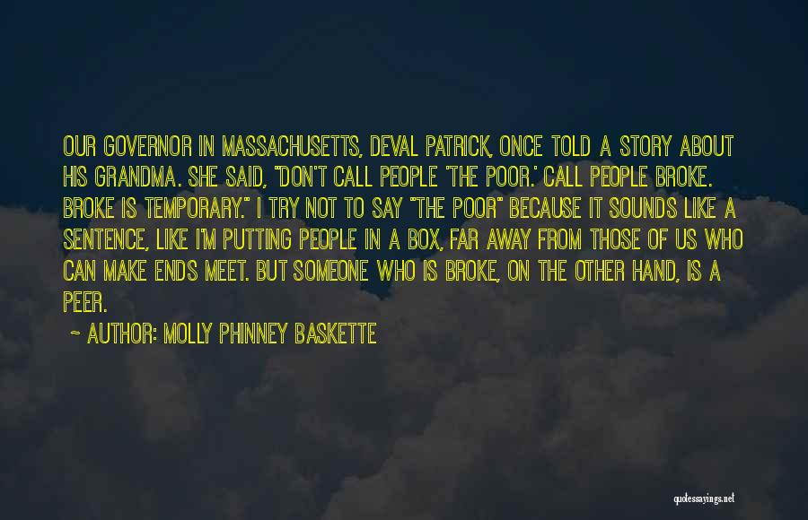 Grandma Quotes By Molly Phinney Baskette