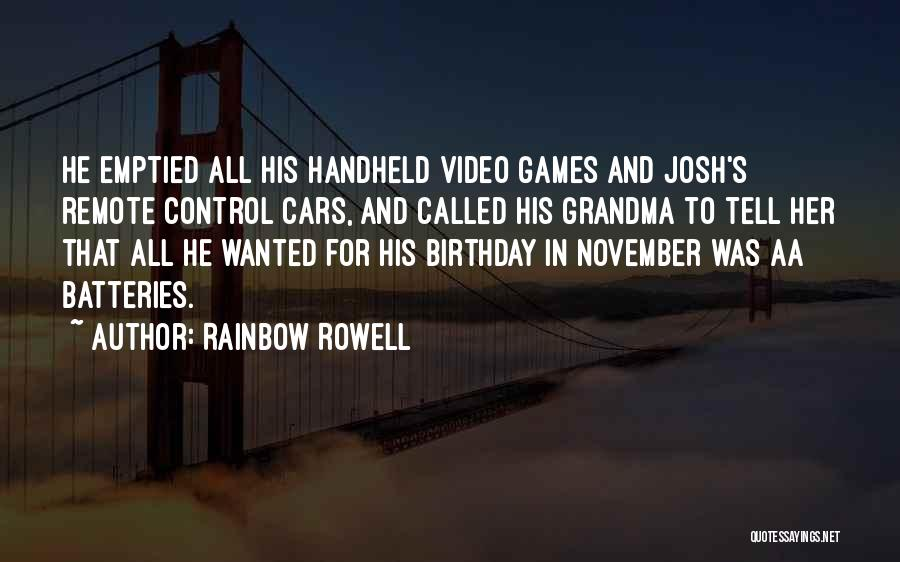 Grandma Quotes By Rainbow Rowell
