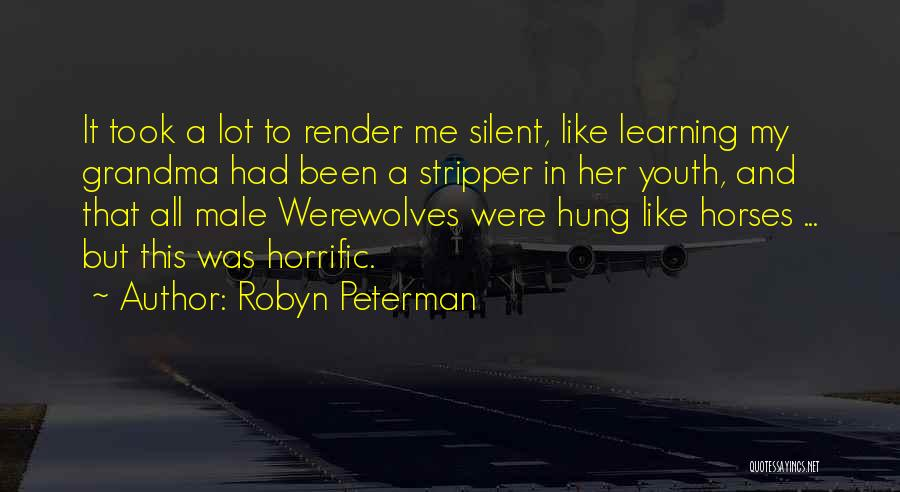 Grandma Quotes By Robyn Peterman
