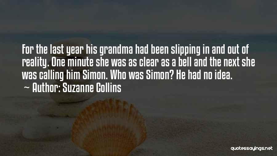 Grandma Quotes By Suzanne Collins