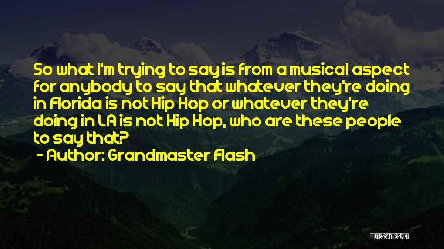 Grandmaster Flash Quotes 2135836