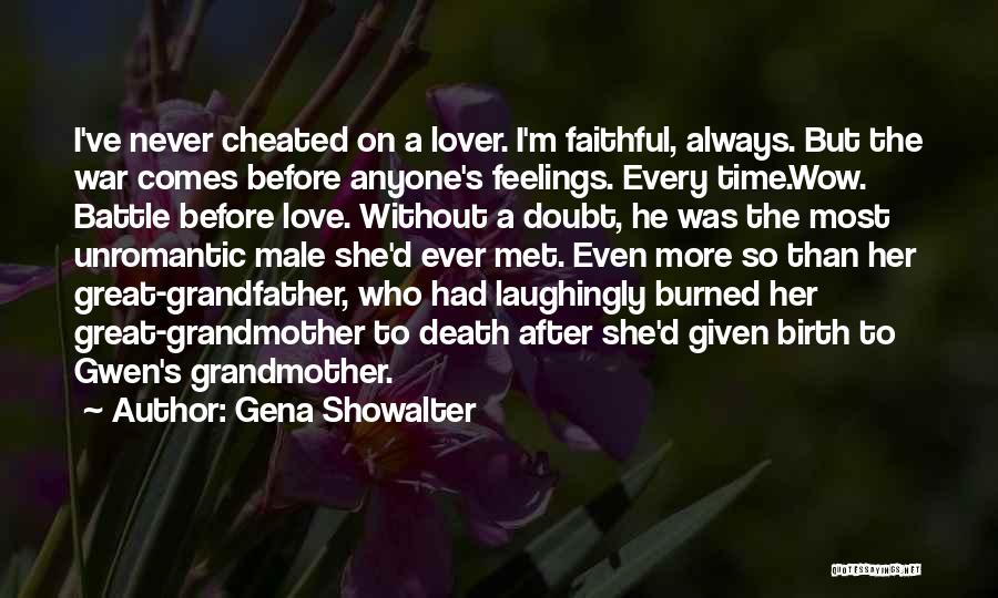 Grandmother Love Quotes By Gena Showalter