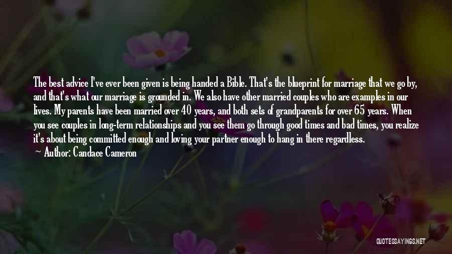 Grandparents In The Bible Quotes By Candace Cameron
