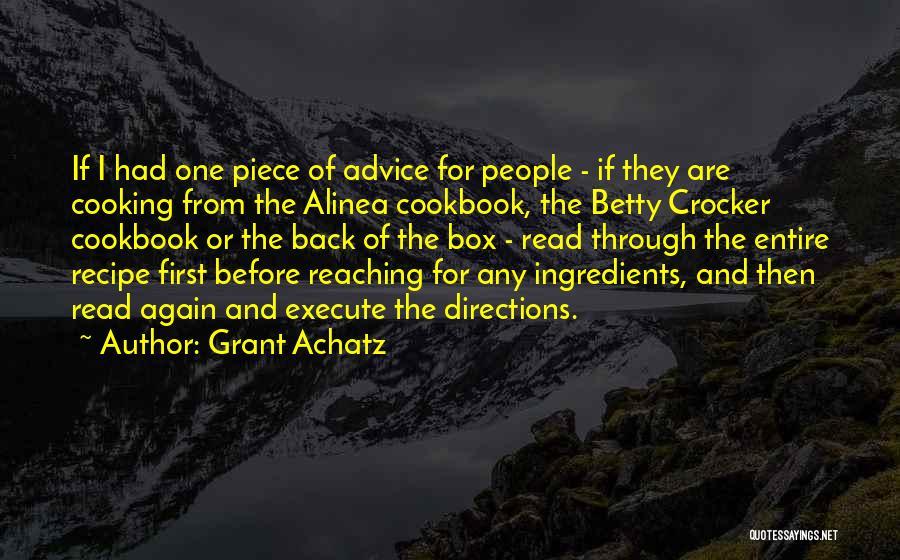 Grant Achatz Quotes 801619