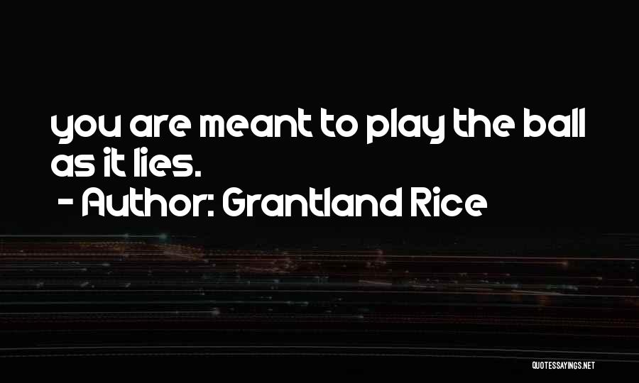 Grantland Rice Quotes 1882482