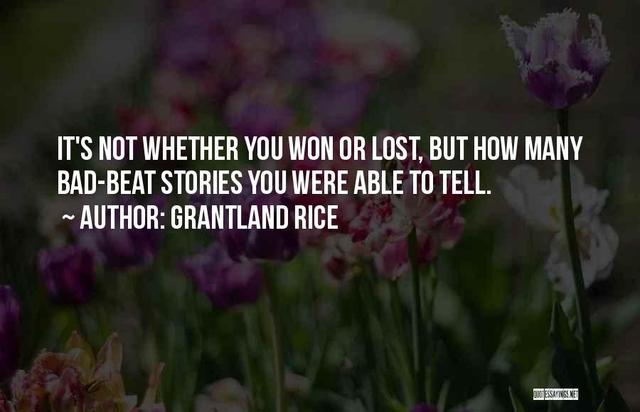 Grantland Rice Quotes 877712