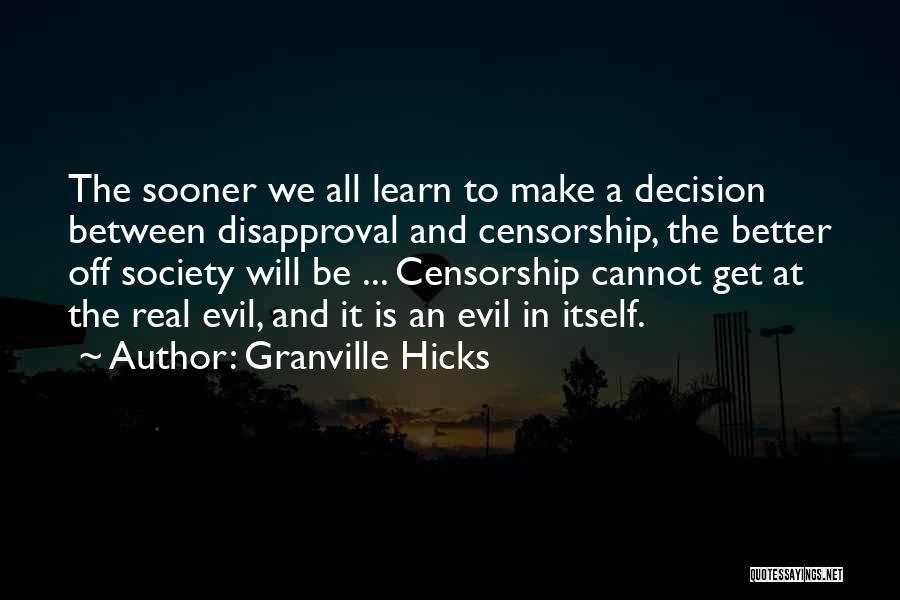 Granville Hicks Quotes 260952