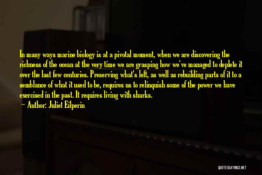Grasping The Moment Quotes By Juliet Eilperin