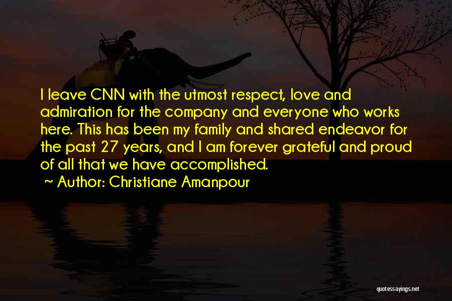 Grateful For Who I Am Quotes By Christiane Amanpour