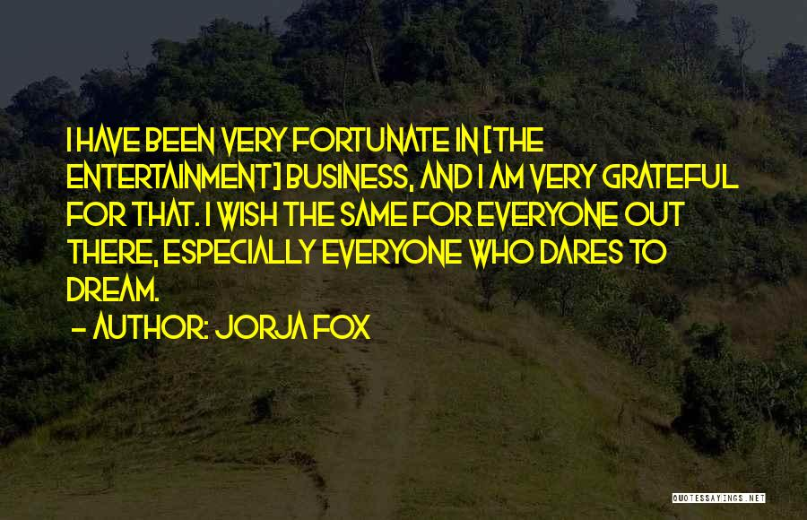 Grateful For Who I Am Quotes By Jorja Fox
