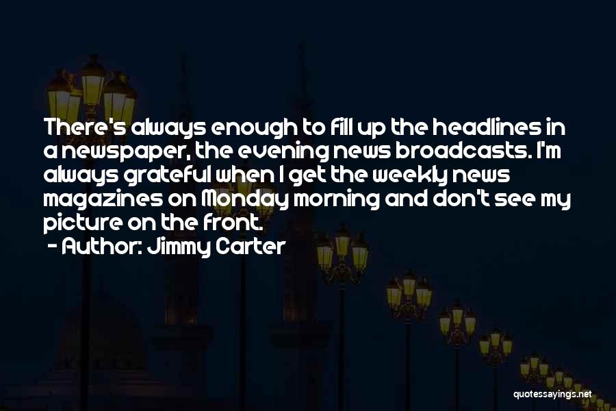 Grateful Quotes By Jimmy Carter