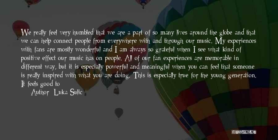 Grateful Quotes By Luka Sulic
