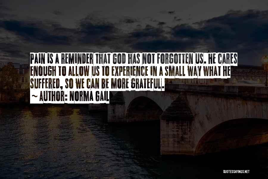 Grateful Quotes By Norma Gail