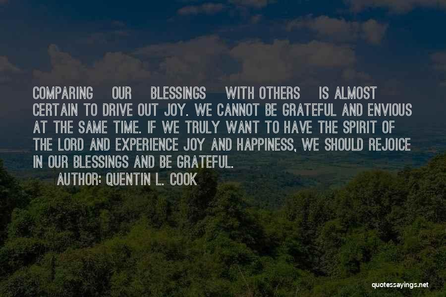 Grateful Quotes By Quentin L. Cook