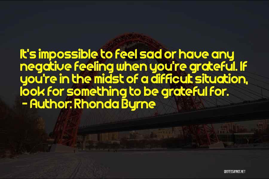 Grateful Quotes By Rhonda Byrne