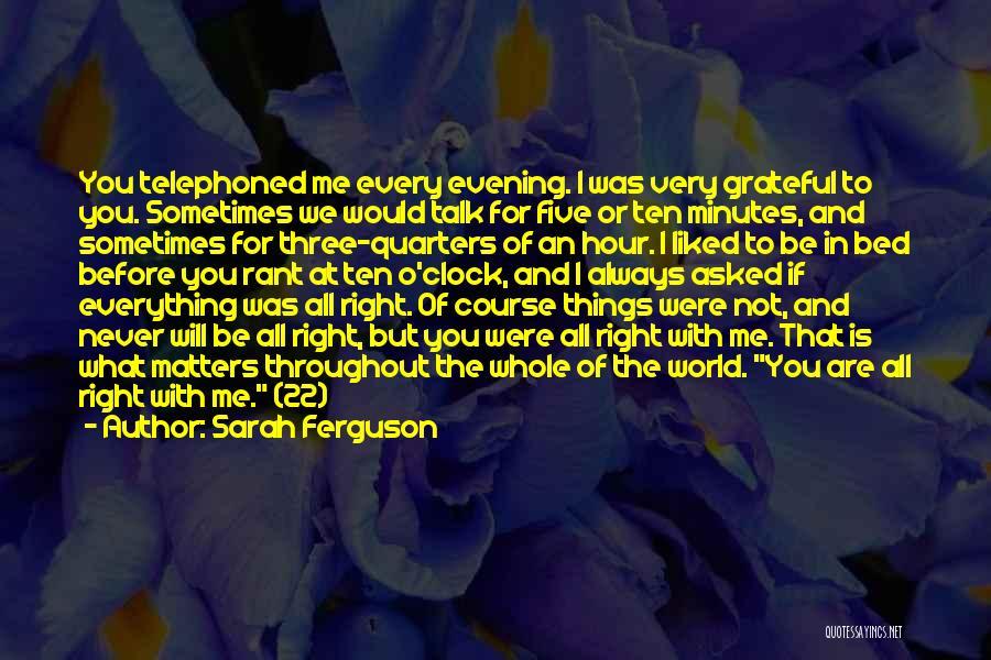 Grateful Quotes By Sarah Ferguson