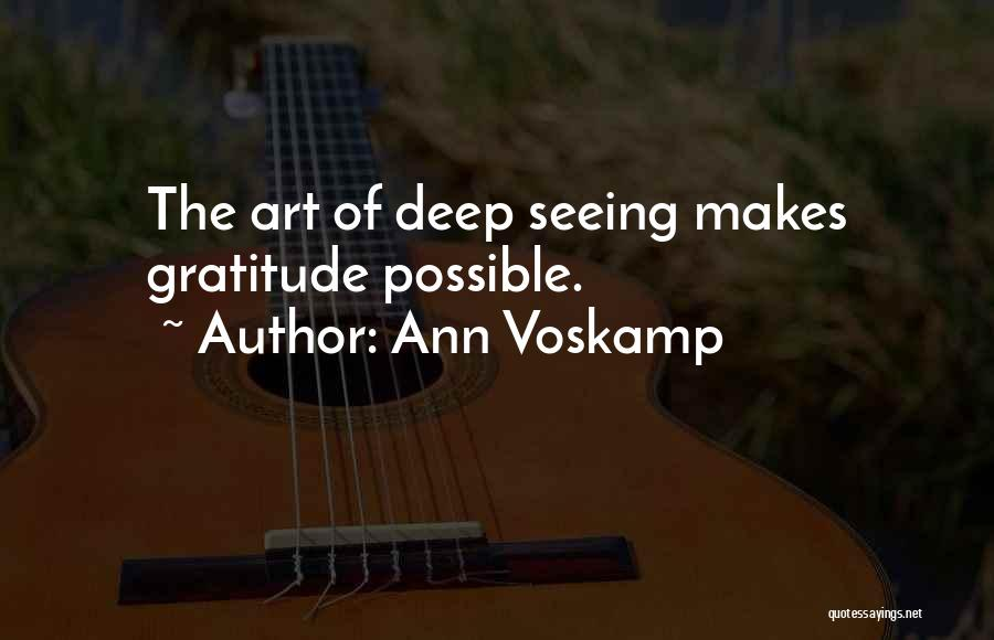 Top 23 Quotes & Sayings About Gratitude Ann Voskamp