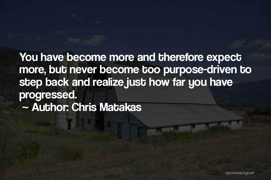 Gratitude For Success Quotes By Chris Matakas