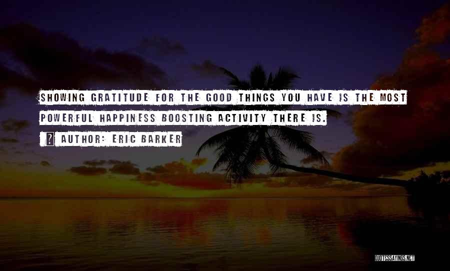 Gratitude For Success Quotes By Eric Barker