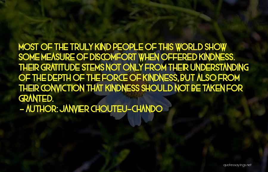 Gratitude For Success Quotes By Janvier Chouteu-Chando