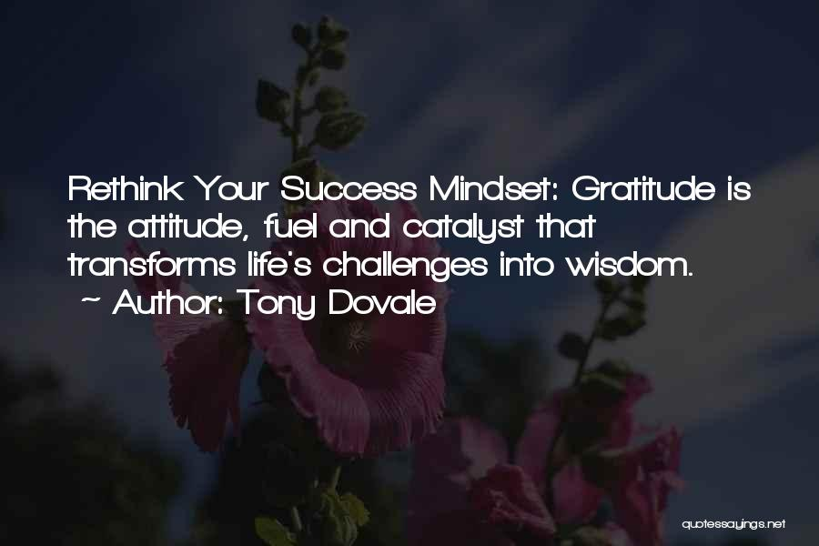 Gratitude For Success Quotes By Tony Dovale